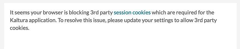 3rd party cookies error
